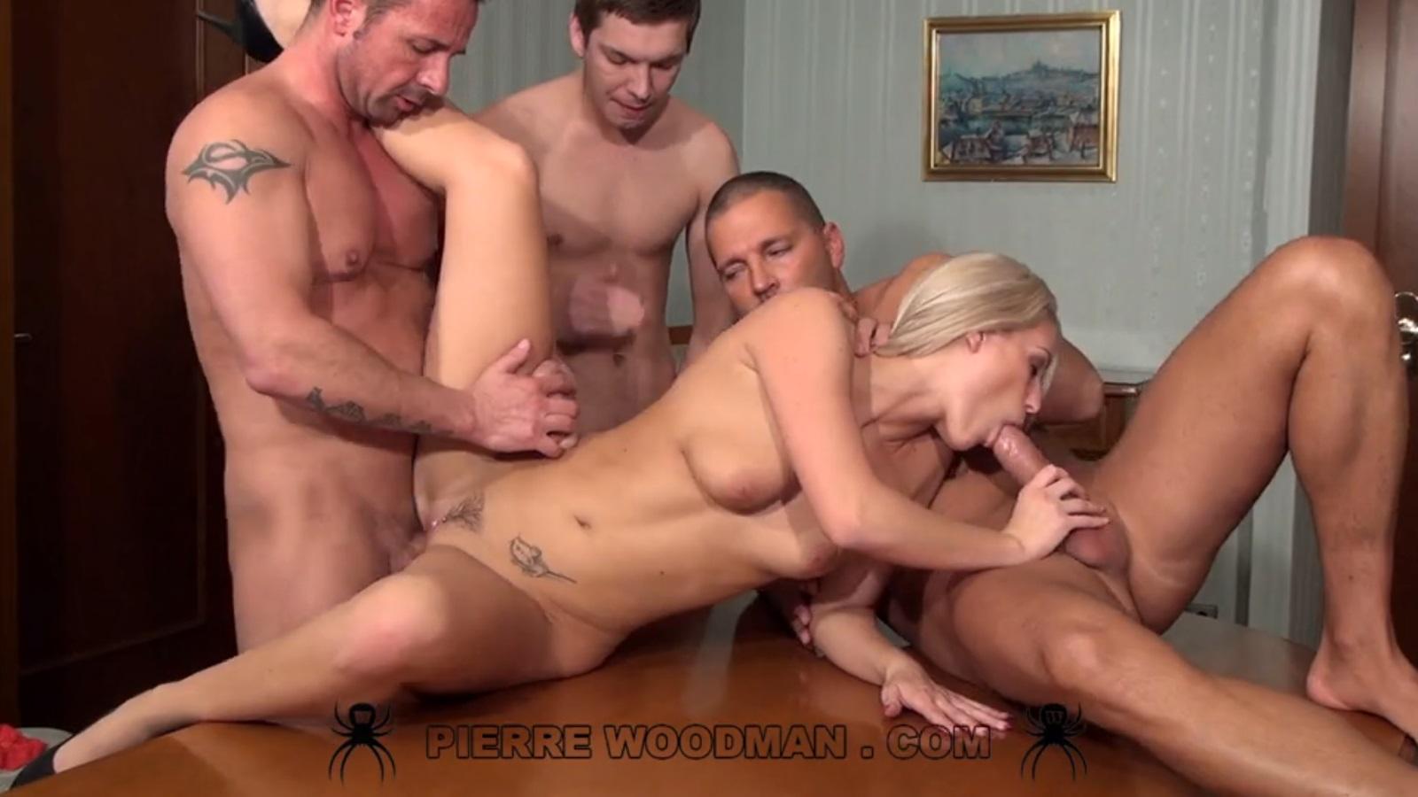 Woodman gangbang